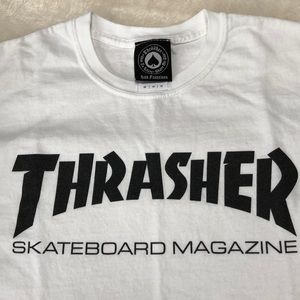 Thrasher Shirts - Men's Thrasher Tee♠️